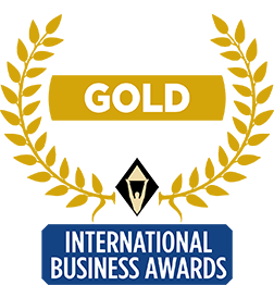 Stevie International Business Gold Award 2018