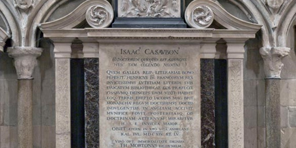 Image result for isaac casaubon