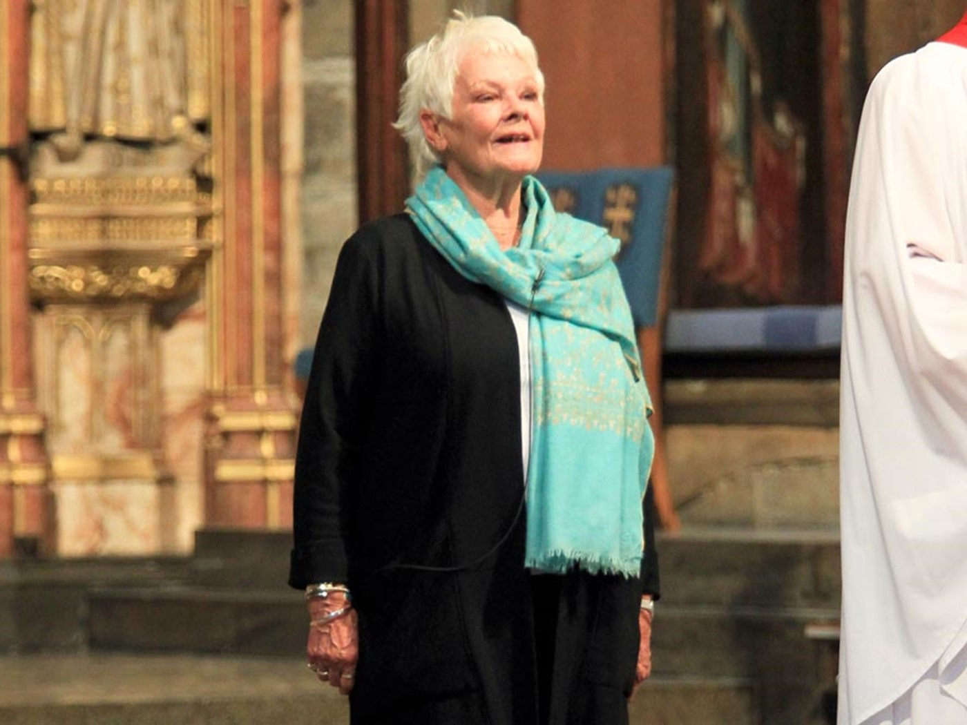 Dame Judi Dench reads from Antony and Cleopatra, Act V