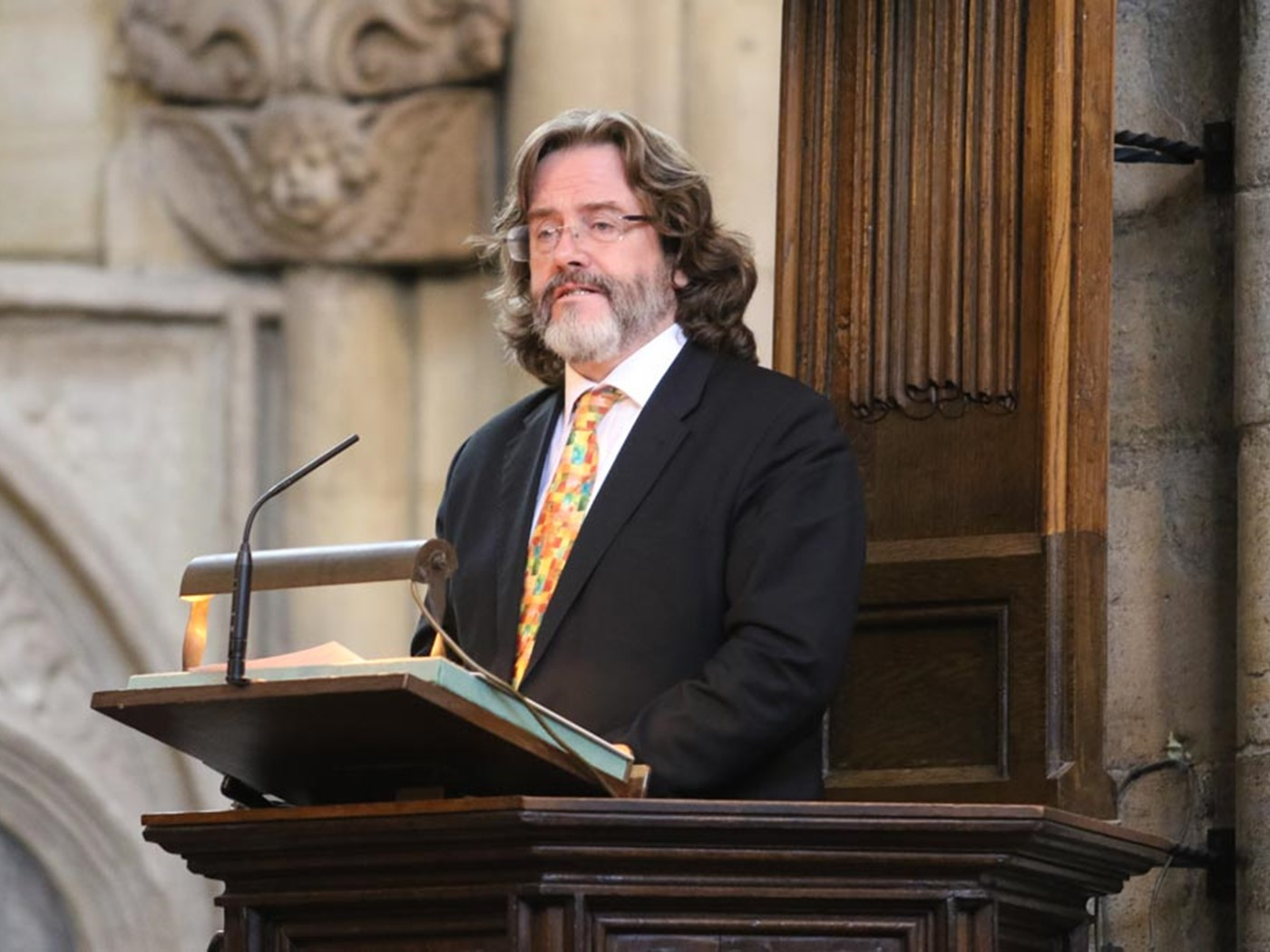 Gregory Doran, Artistic Director of the Royal Shakespeare Company, reads Ecclesiastes 3: 1-8