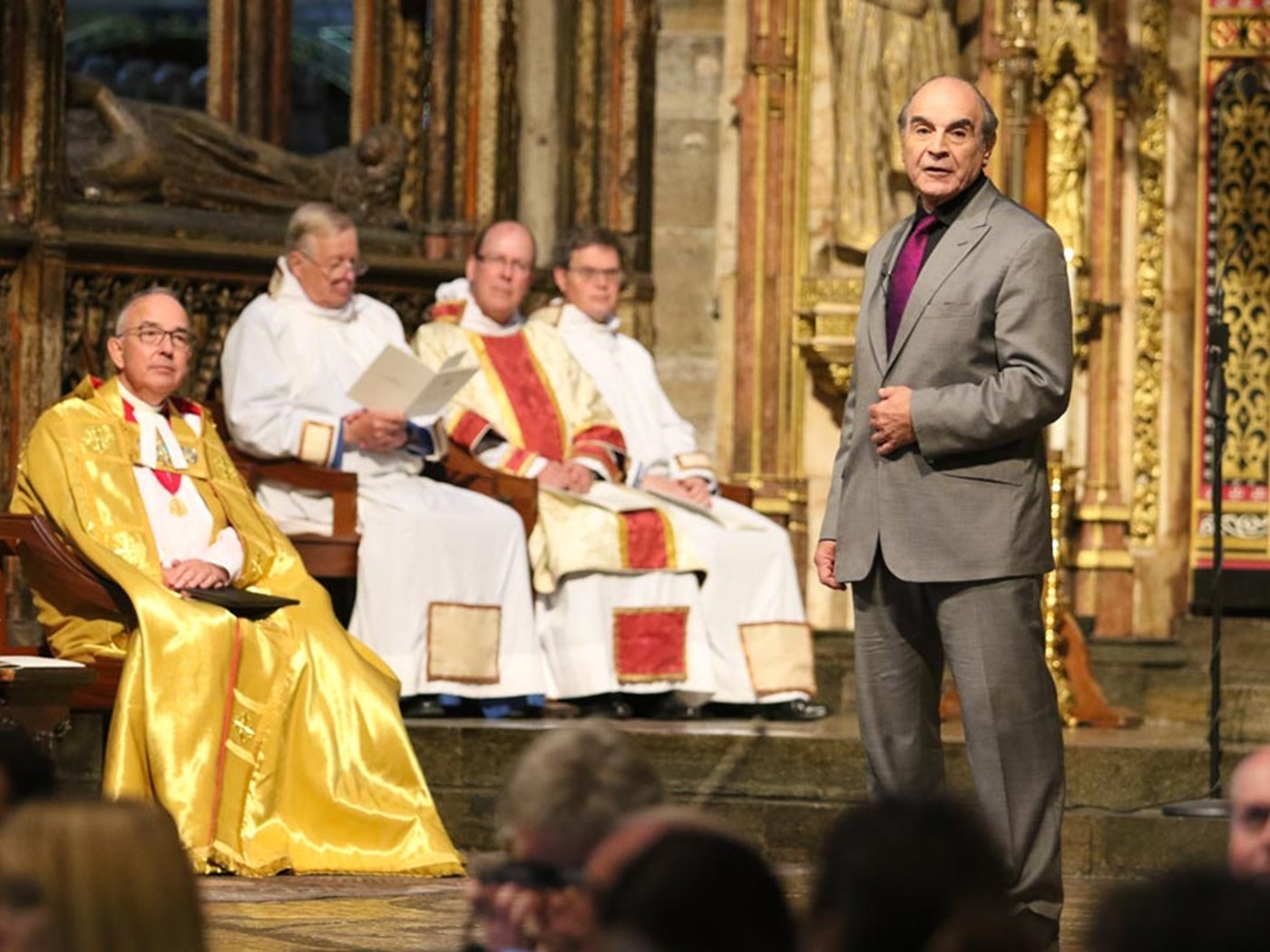 David Suchet reads from Amadeus, Act 1, Scene V