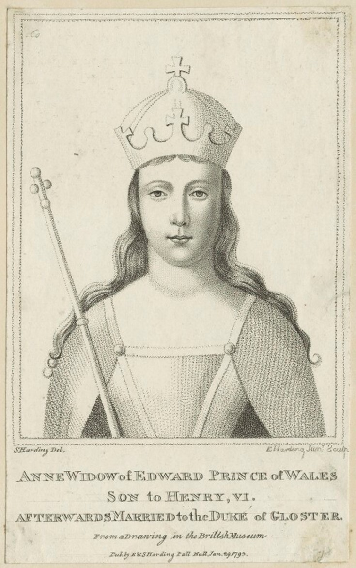 Anne Neville, wife of Richard III