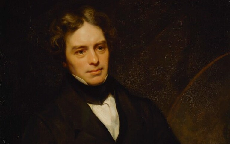 Michael Faraday by Thomas Phillips
