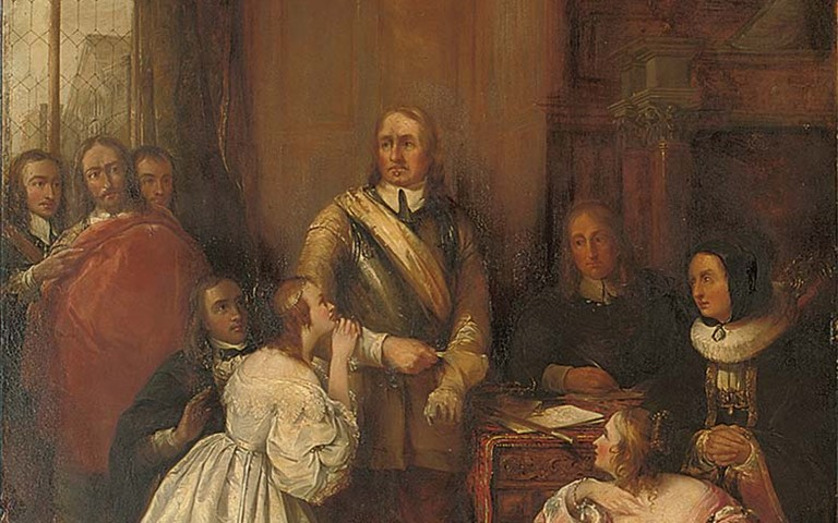 Oliver Cromwell and Family