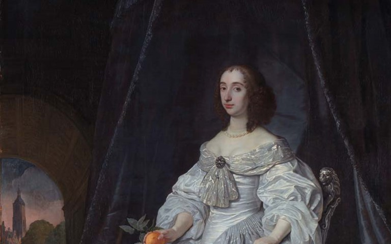 westminster-abbey-princess-mary-of-orange-portrait