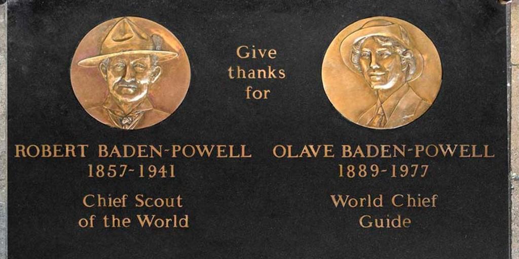 Robert Olave Baden Powell Westminster Abbey