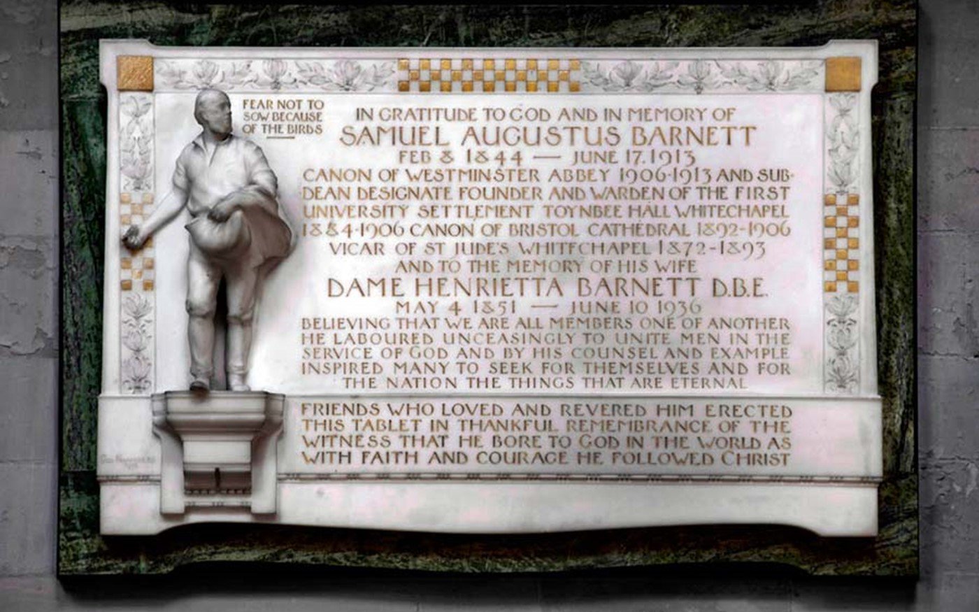 Samuel and Henrietta Barnett