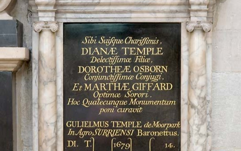 westminster-abbey-sir-william-temple-family-plaque