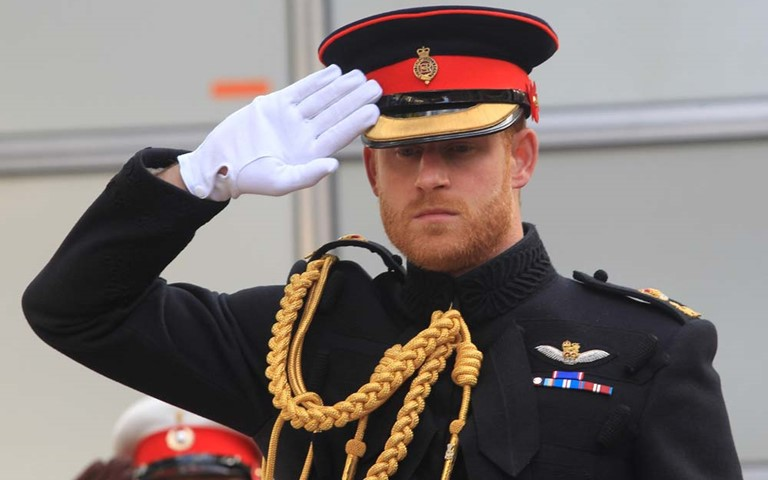 The Duke of Sussex opens the 90th Field of Remembrance