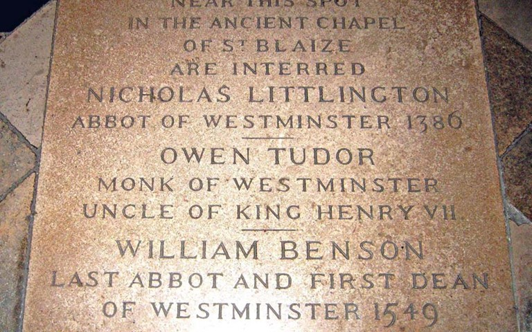 westminster-abbey-william-benson-grave