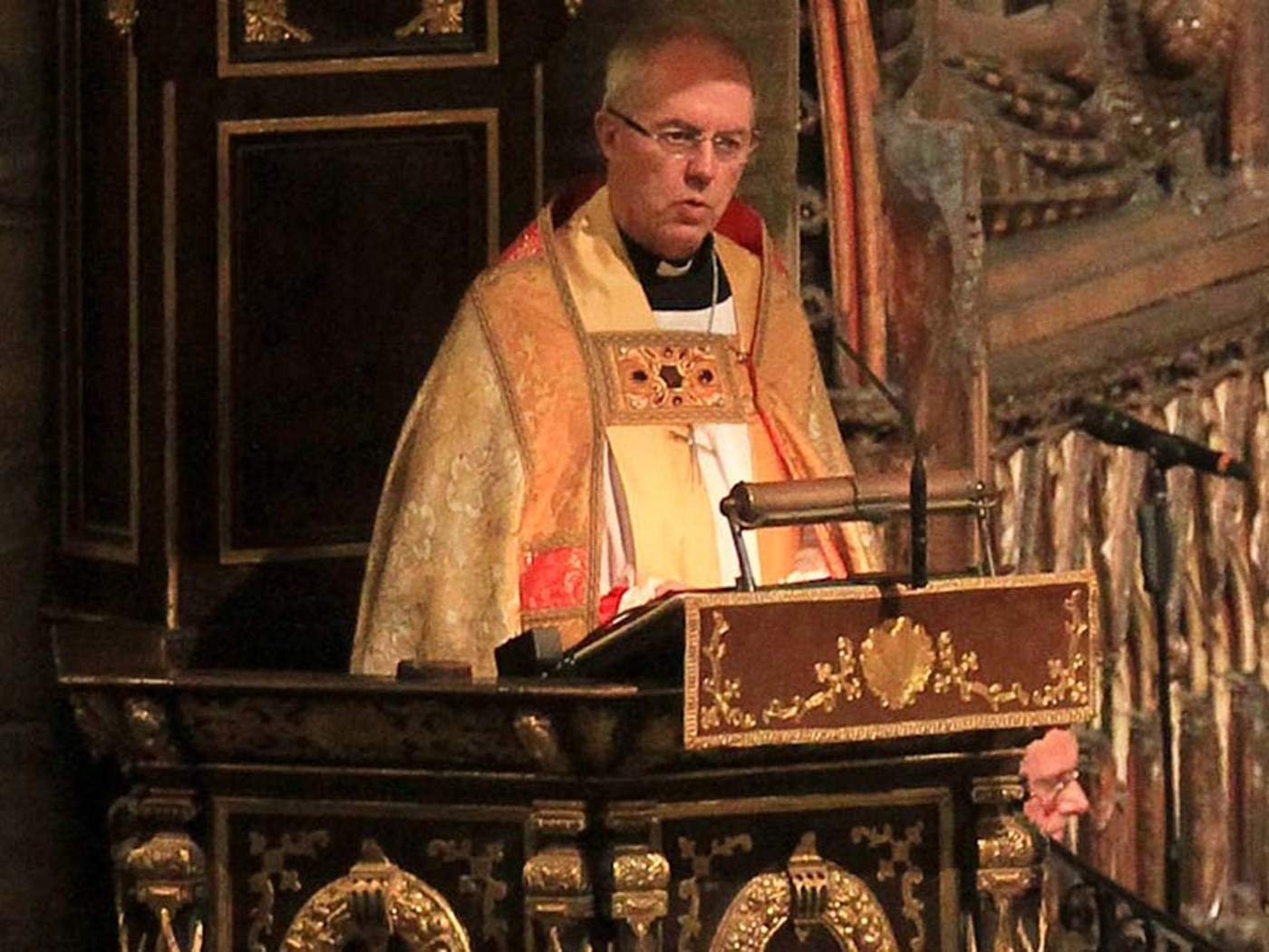 The Right Honourable and Most Reverend Justin Welby, Archbishop of Canterbury, Primate of All England, and Metropolitan, gives the Address