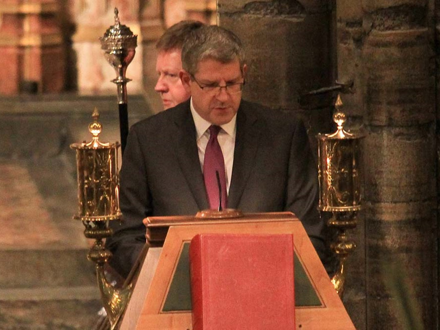Andrew Parker, Director General, MI5, reads St Luke 1: 26–38
