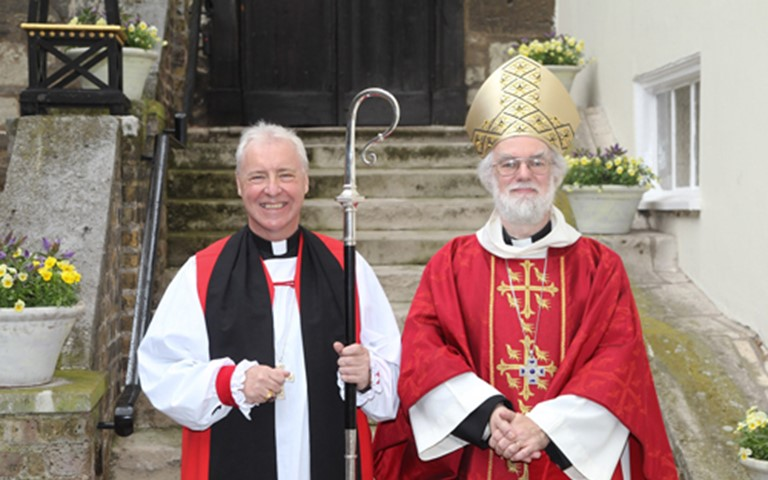 Bishop of Lincoln Consecrated at Westminster Abbey