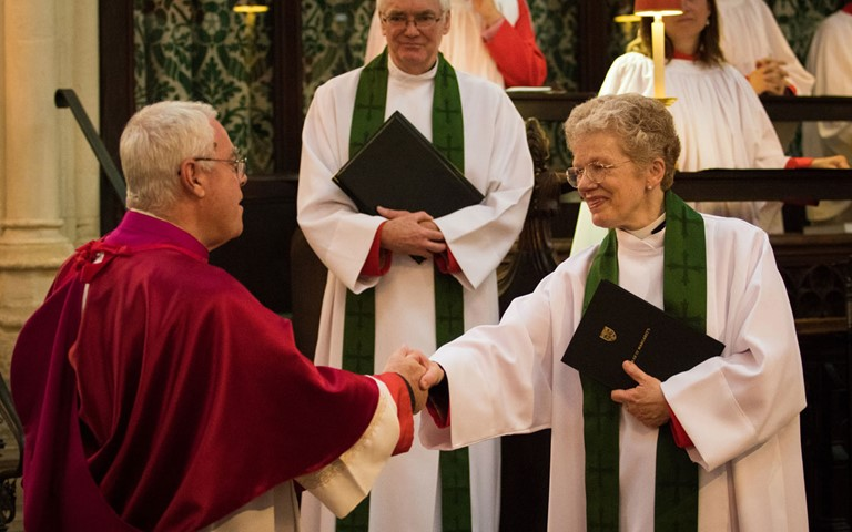 The Reverend Jane Sinclair installed as Rector of St Margaret's Church