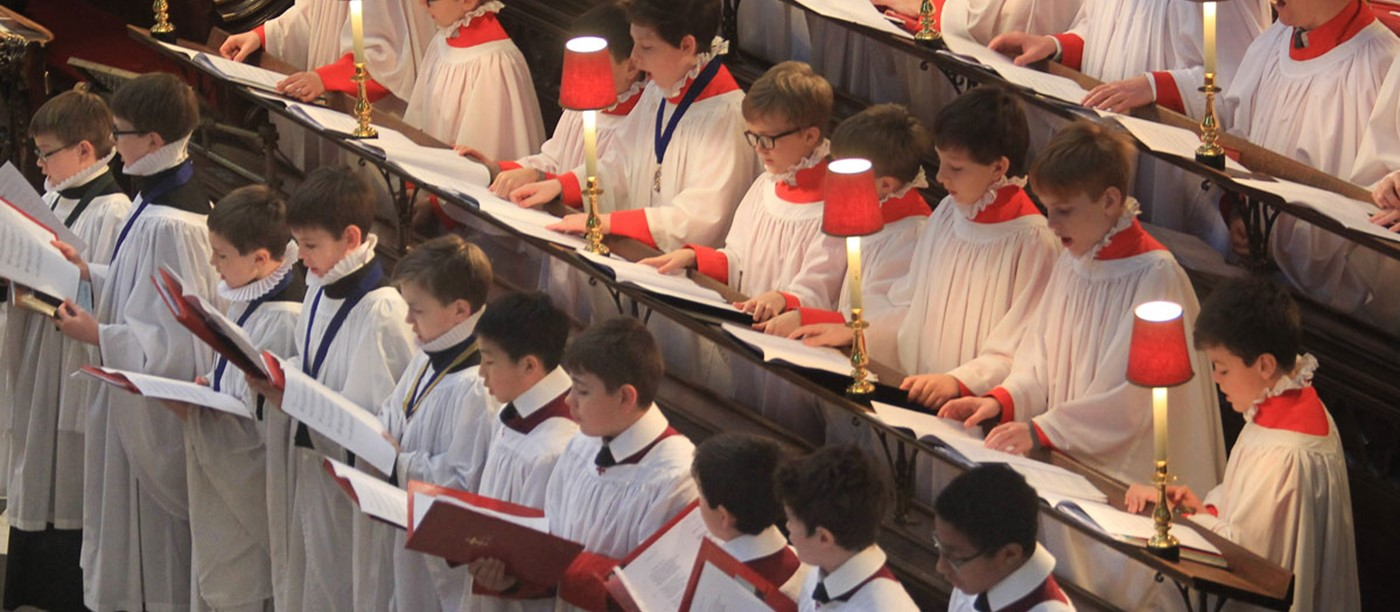St Cecilia service held at Westminster Abbey