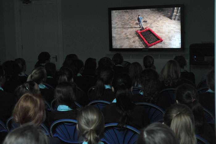 Video conferencing for secondary school students