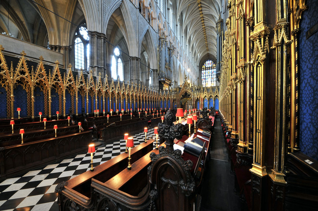 The quire stalls