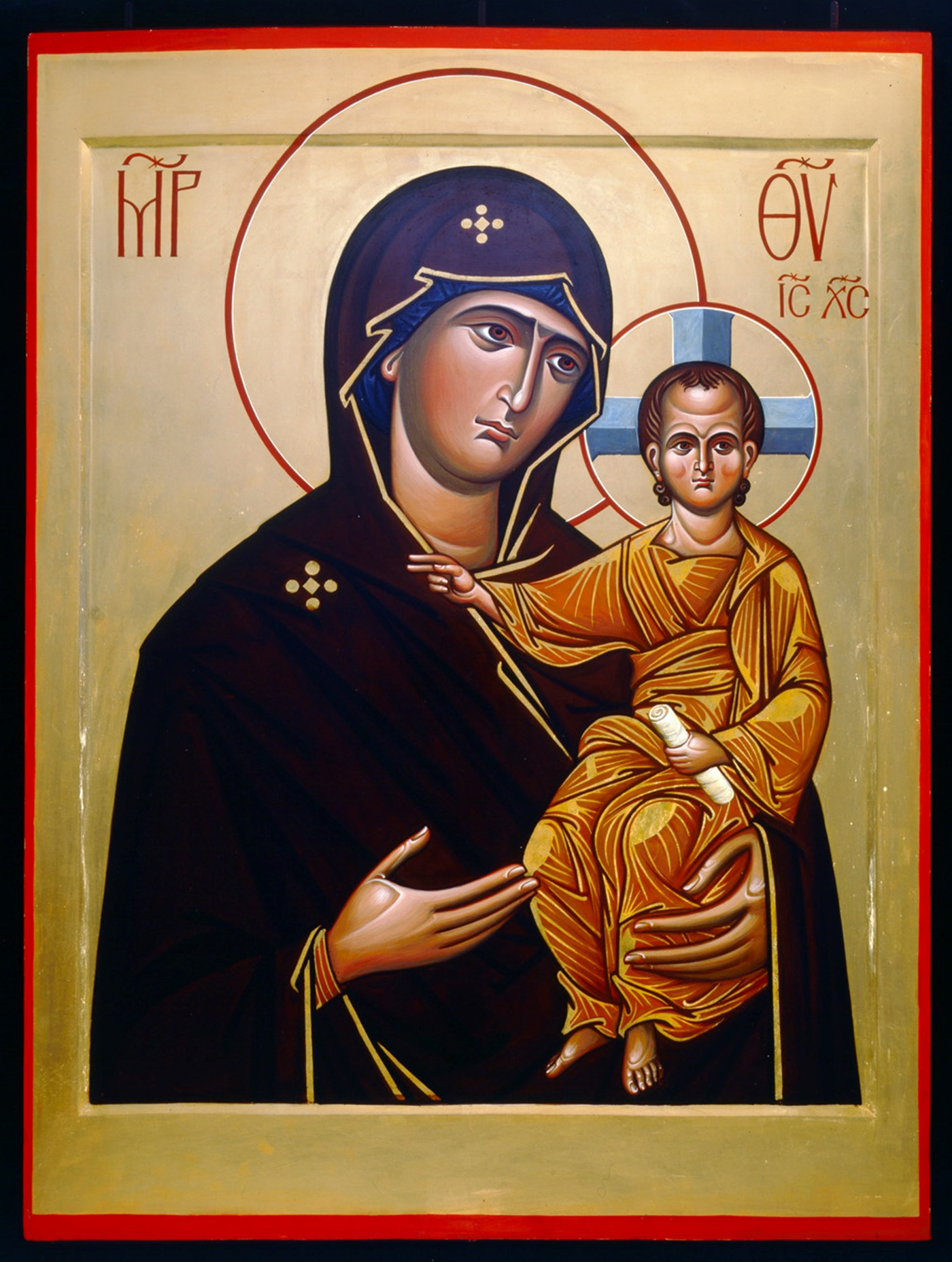 Icon of BVM by Federov 300 Westminster Abbey copyright.jpg