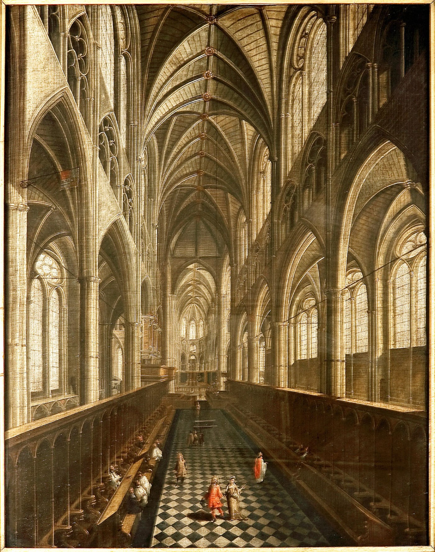 Choir c.1700 painting (DL09) 300 Westminster Abbey copyright.jpg
