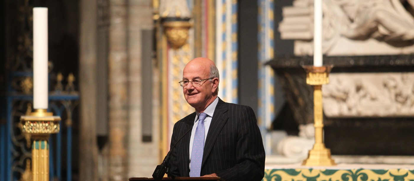 Lord Judge Delivers first King James Bible Lecture