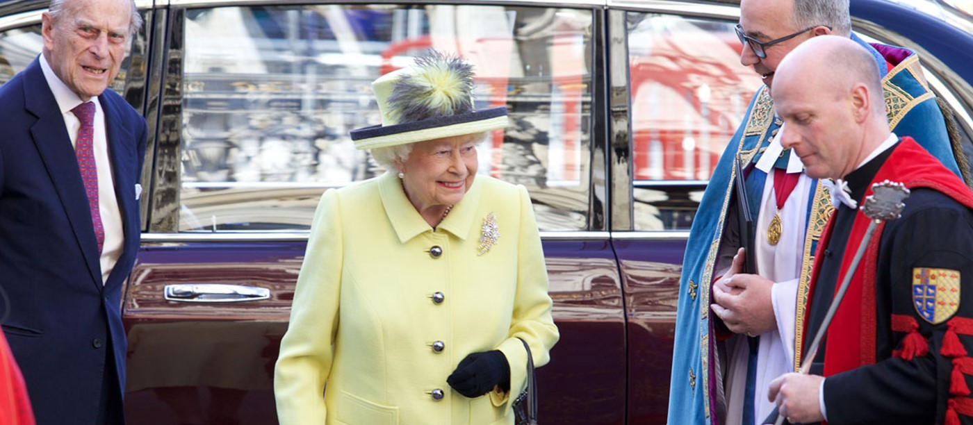 Her Majesty The Queen attends The Commonwealth Service