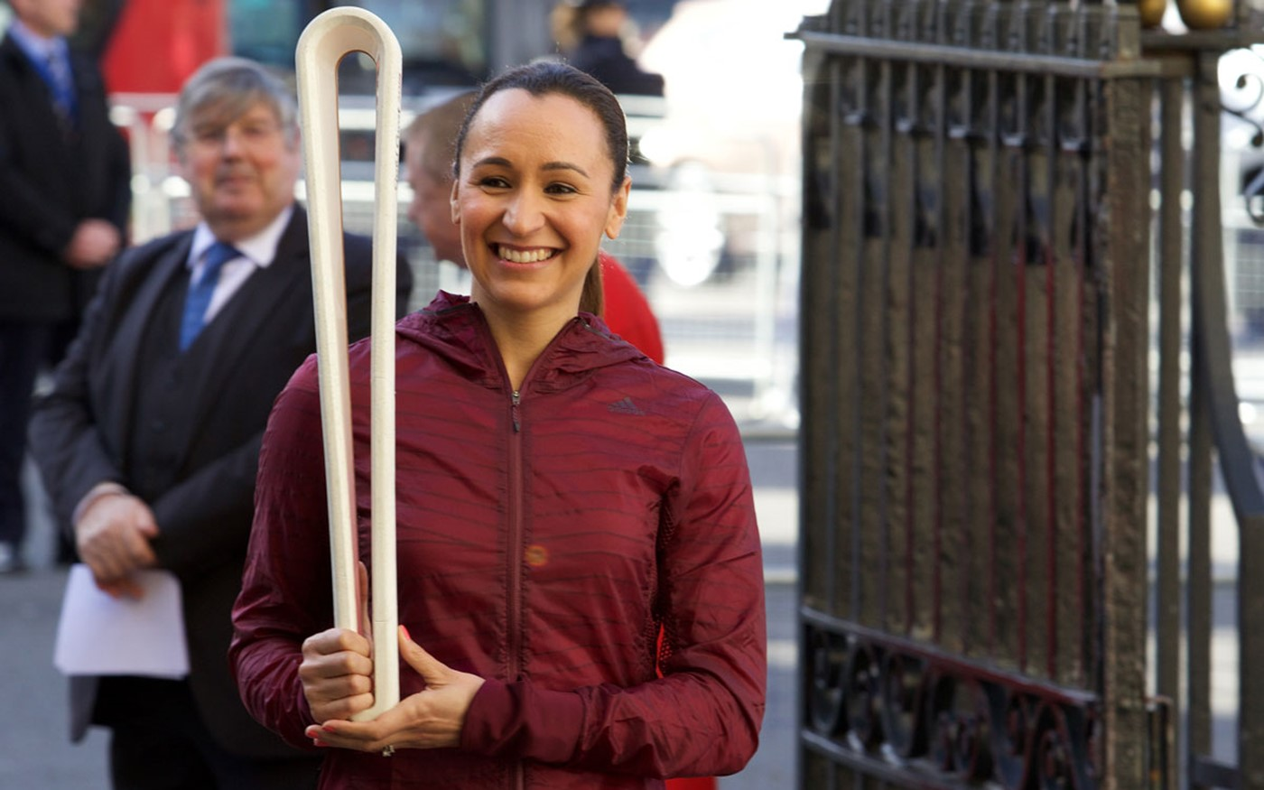 The Queen's Baton for the Gold Coast 2018 Commonwealth Games was brought into the Abbey by Dame Jessica Ennis-Hill
