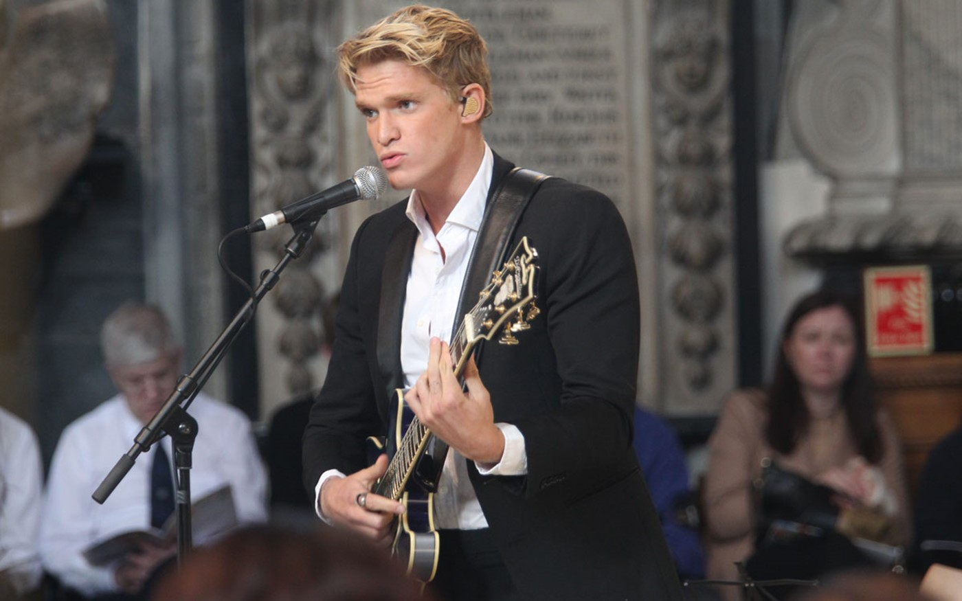 Cody Simpson performs What a Wonderful World