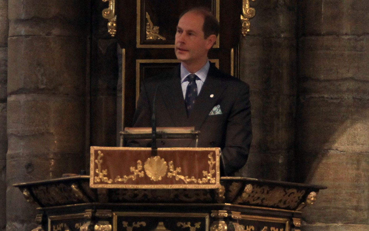 The Earl of Wessex gives The Address