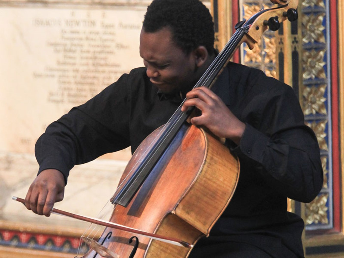 Abel Selaocoe plays two movements from Cello Suite I, Op 72 by Britten