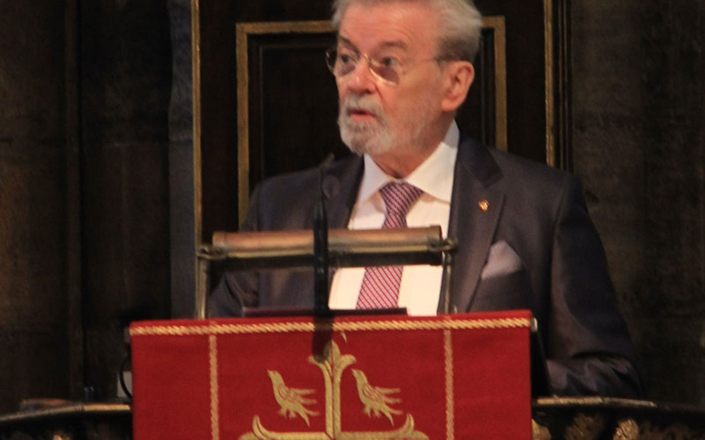 Sir James Galway OBE gives The Address