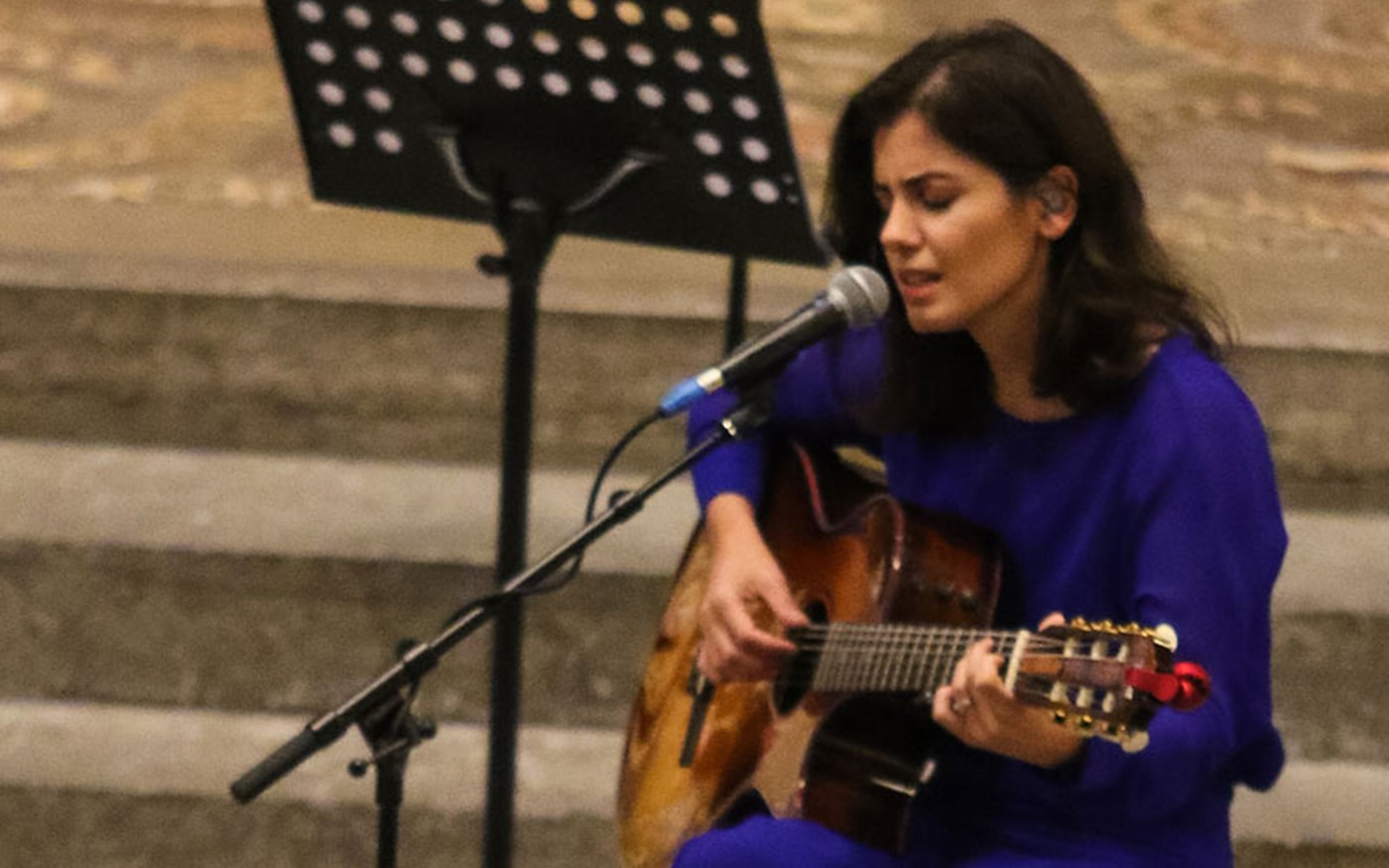 Katie Melua sings The Closest Thing to Crazy by Mike Batt