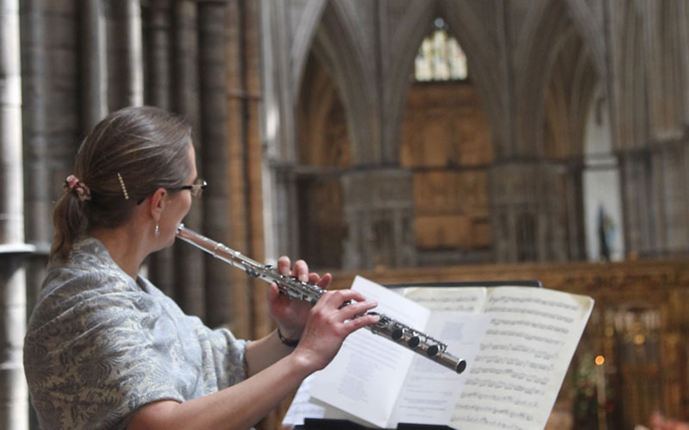 Flautist Kate Grace, Whitelands College Music Scholar, plays Les Folies d'Espagne by Marin Marais (1656-1728)