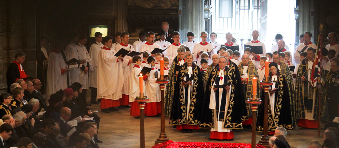 Abbey holds Remembrance Day Service