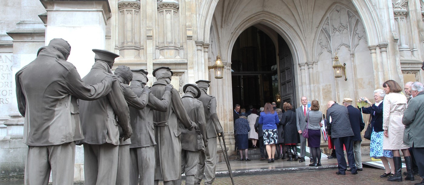 Westminster Abbey marks Blind Veterans UK Centenary