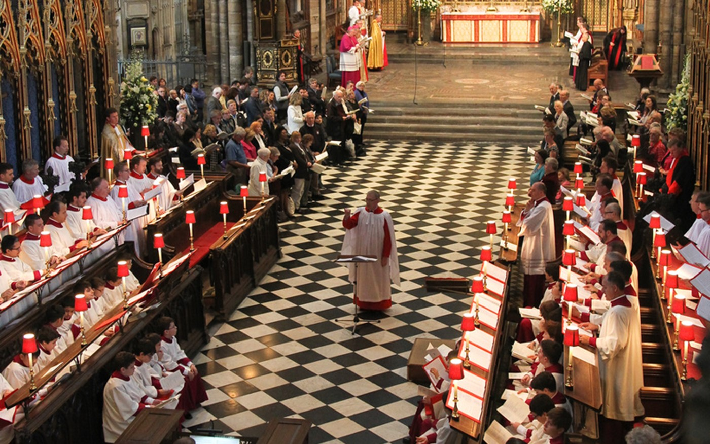 The Sistine Chapel Choir visited Westminster Abbey to sing Evensong and perform a recital of sacred choral music