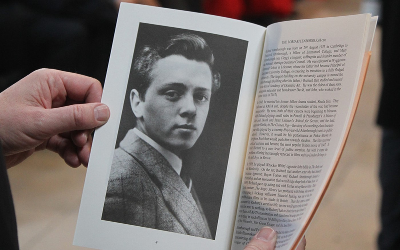 A picture of a young Richard Attenborough