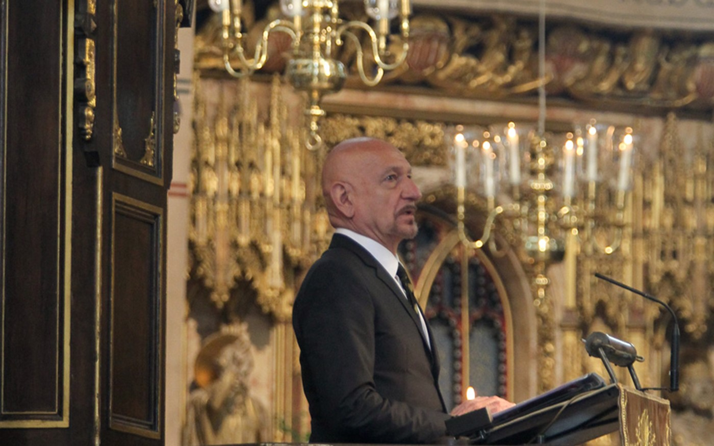 Sir Ben Kingsley reads from The Writings of Gandhi
