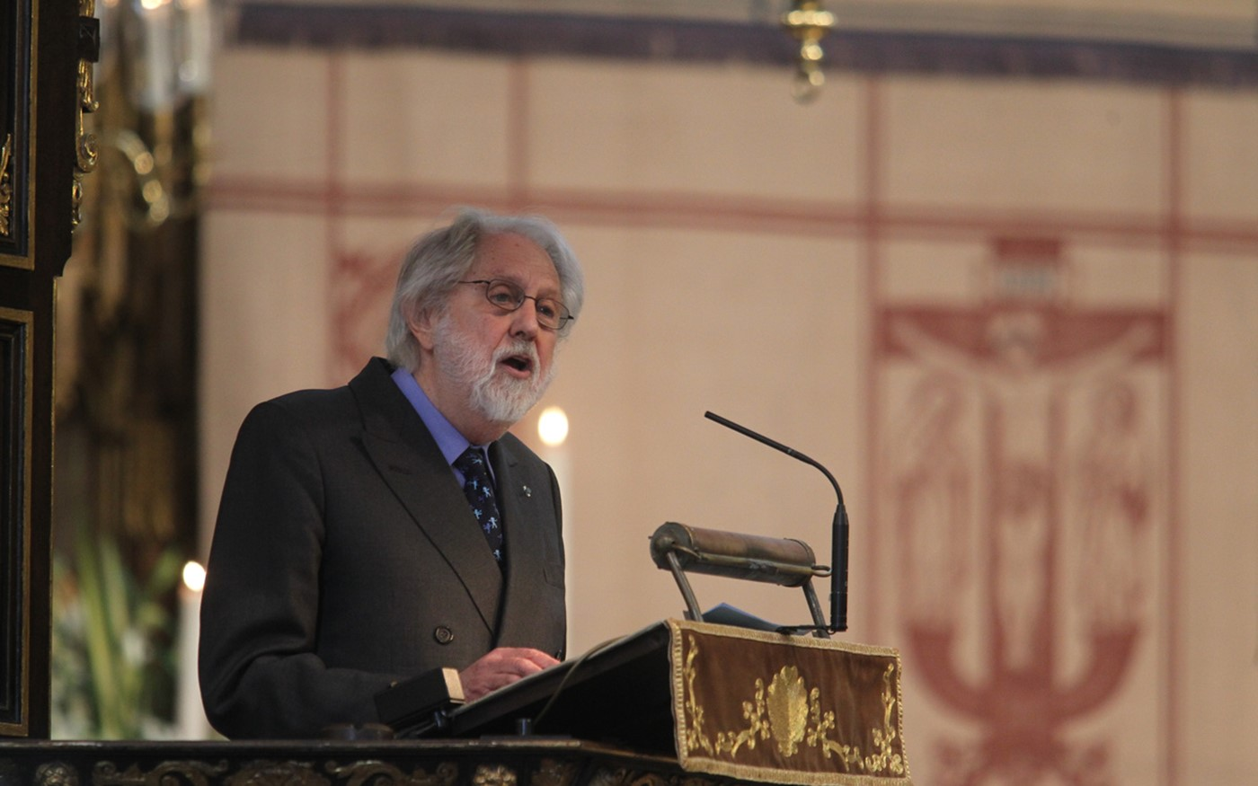 The address from Lord Puttnam