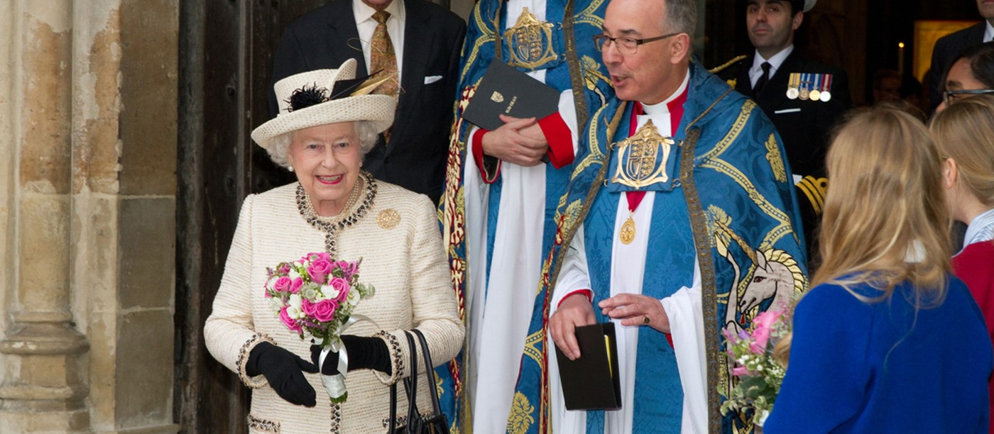 Her Majesty The Queen Attends Commonwealth Day Observance