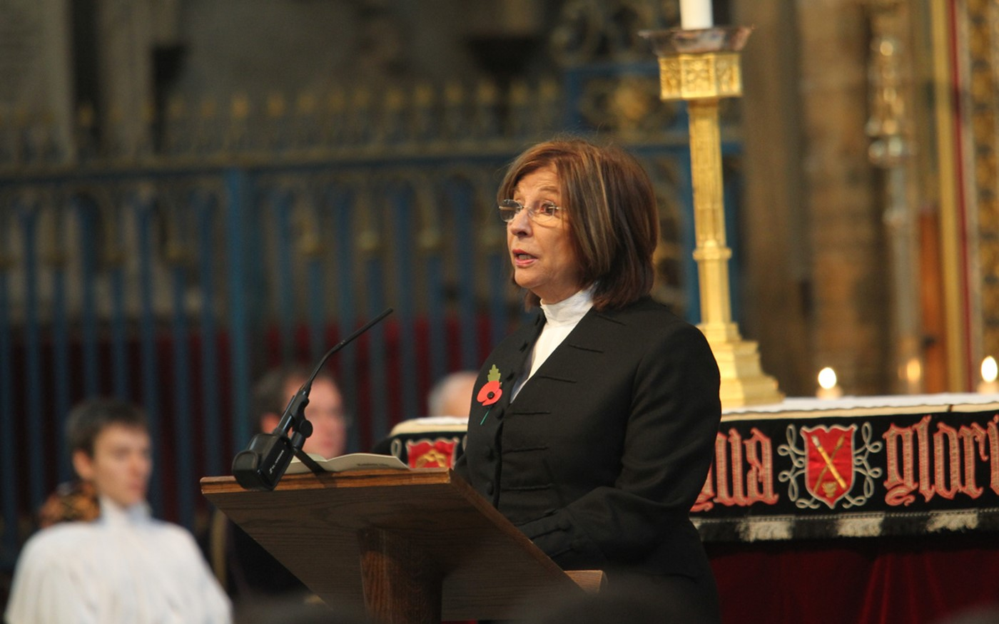 The Right Honourable The Baroness D'Souza, Lord Speaker read Revelation 21: 1-6