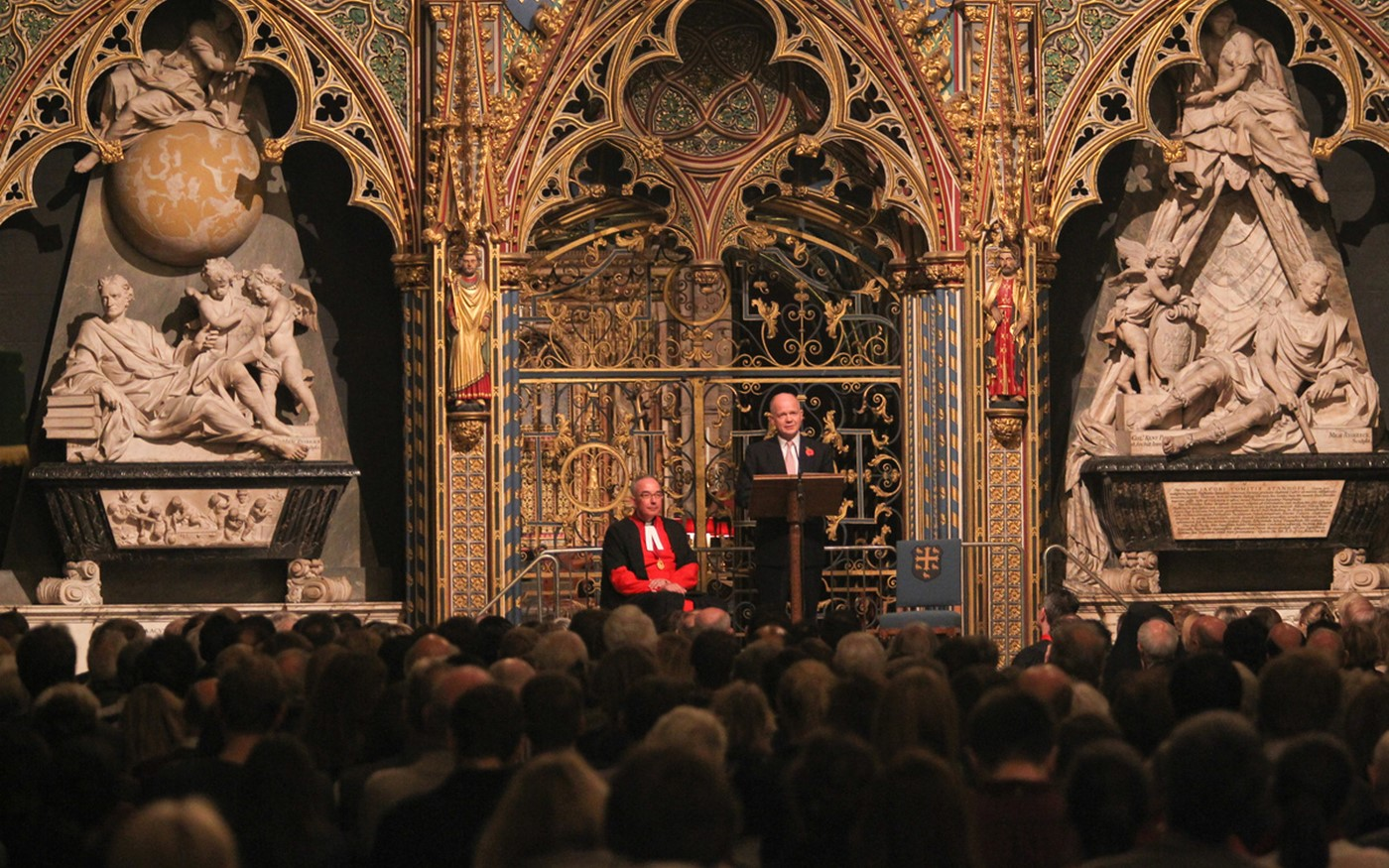 The Rt Hons William Hague MP gives the 2014 One People Oration at Westminster Abbey