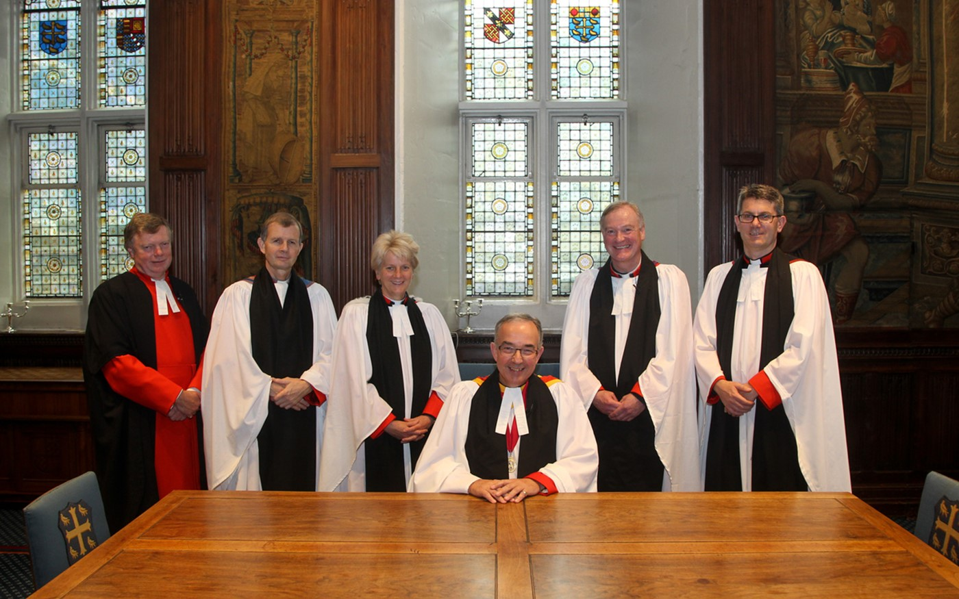 Following the service, Canon Stanton was installed at his place in Chapter within the Jerusalem Chamber