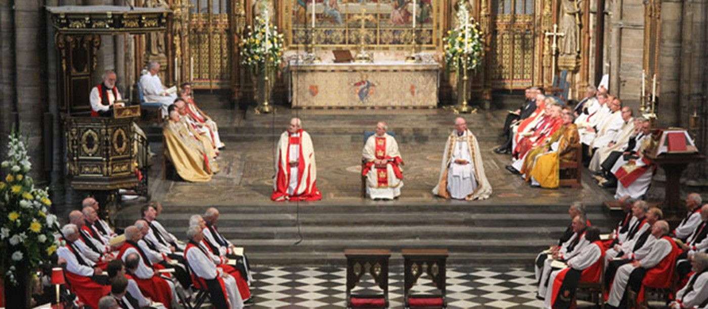 Ordination and Consecration of Bishops at Westminster Abbey