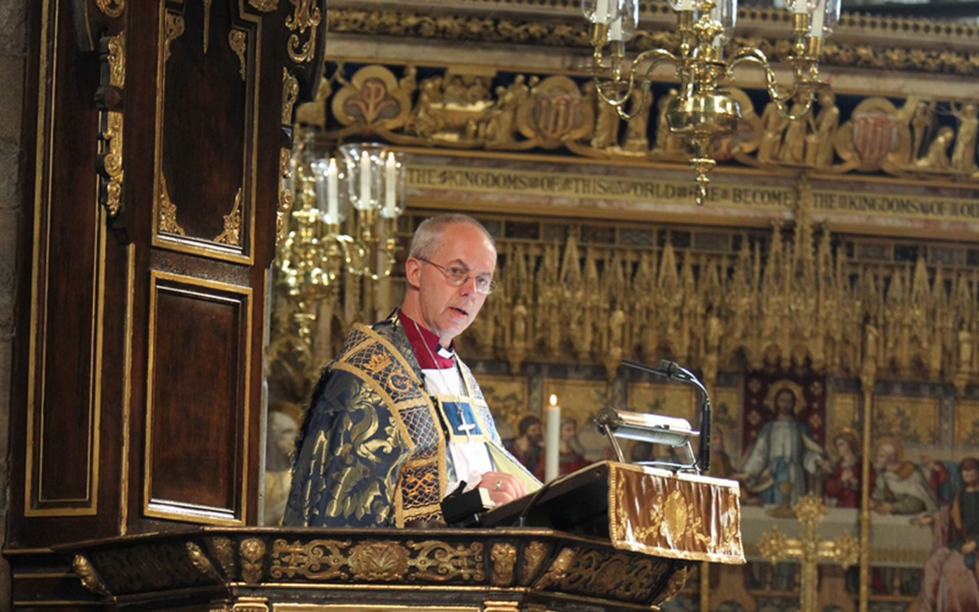 The Address was given by The Most Reverend and Right Honourable Justin Welby, Archbishop of Canterbury, Primate of All England and Metropolitan