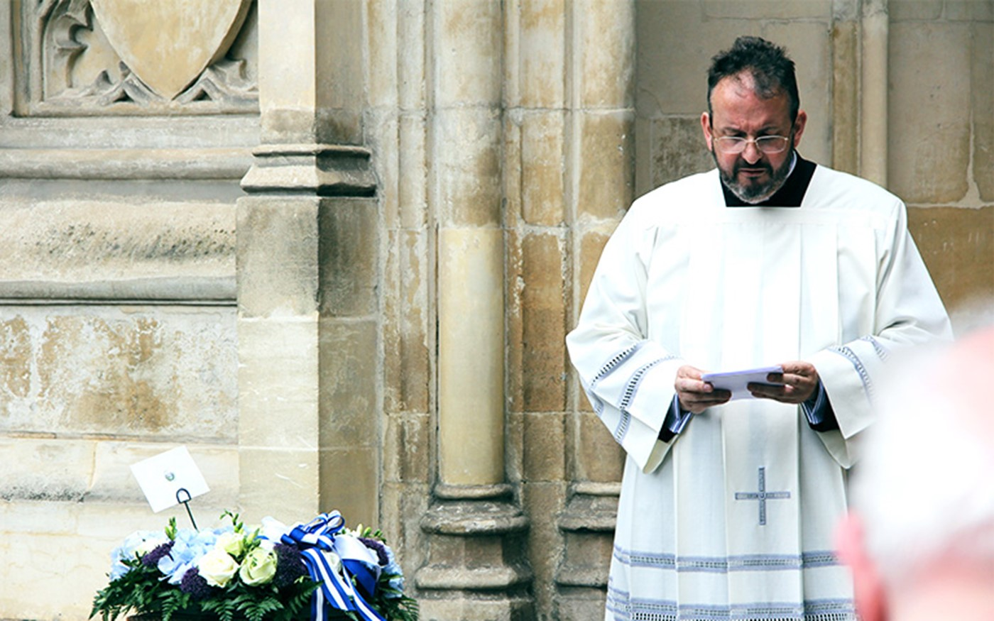 A wreath laying in memory of Saint Oscar Romero took place at Westminster Abbey on Tuesday 7th July