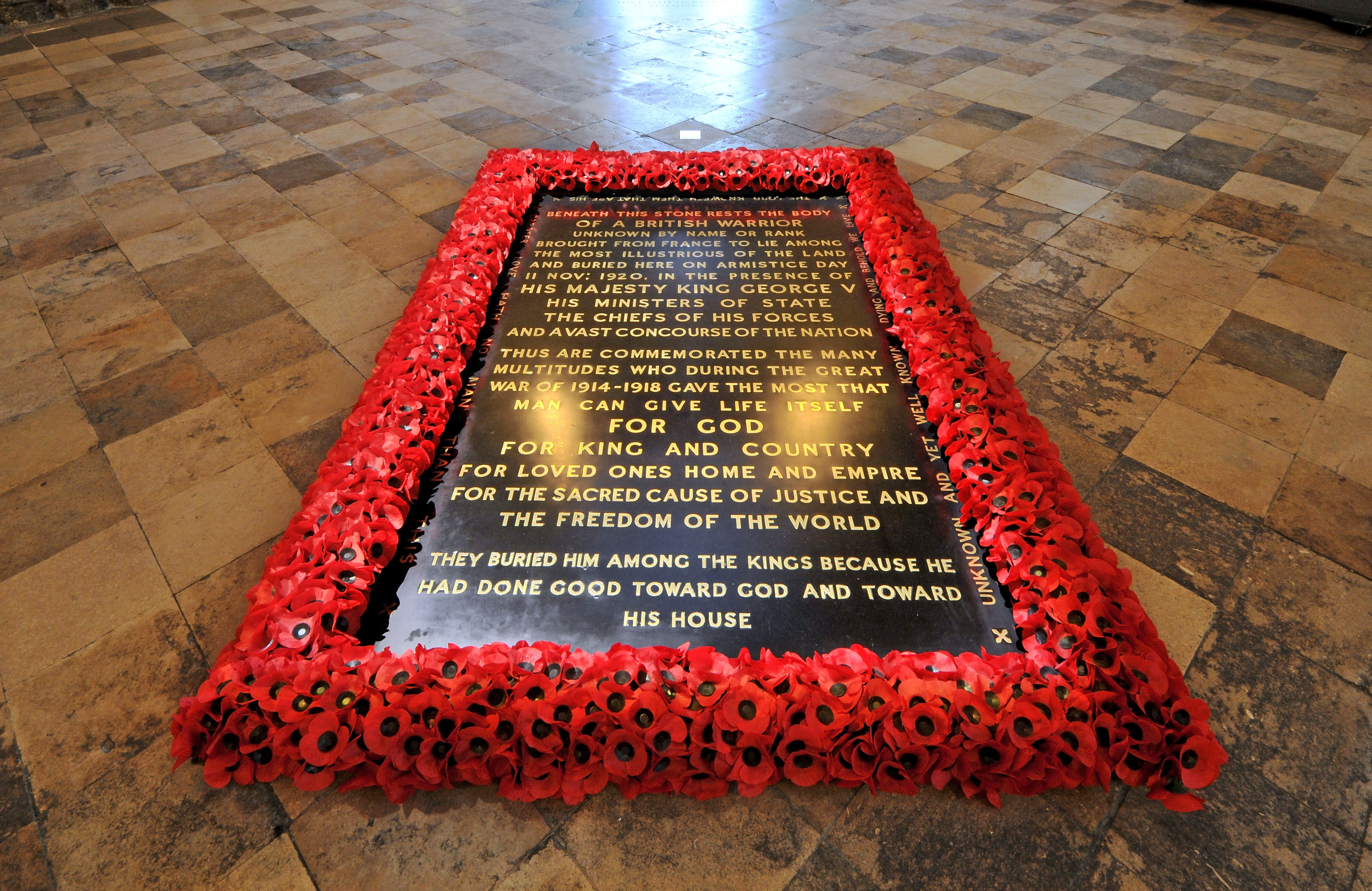 The Grave of the Unknown Warrior