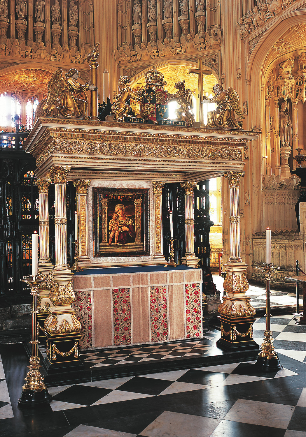 The High Altar in the Lady Chapel