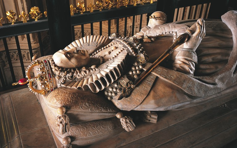 Tomb of Queen Elizabeth I
