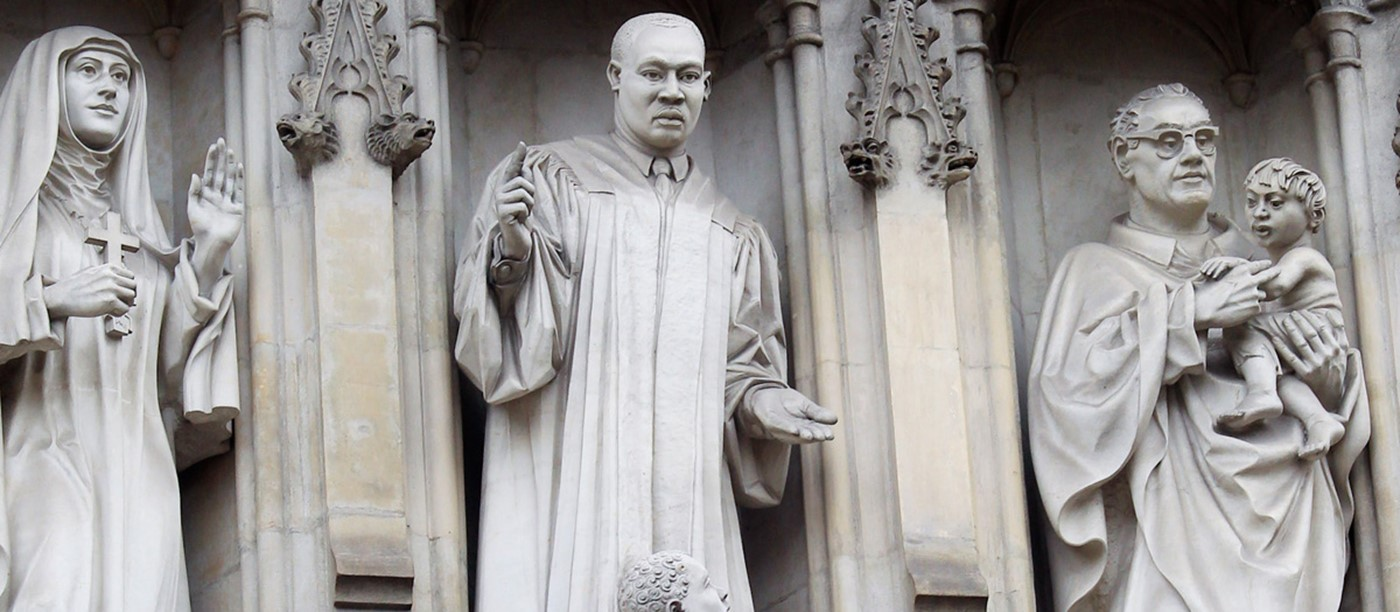 Westminster Abbey marks 50th anniversary of the death of Dr Martin Luther King Jr