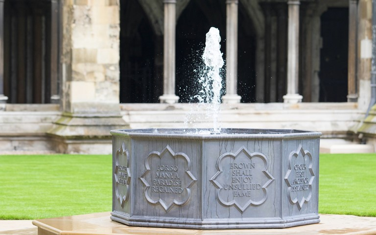 'Capability' Brown fountain dedicated
